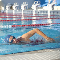 Adult swimming lesson courses with Turner Swim.