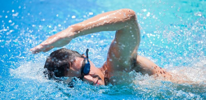 Improve your swimming by breathing well.